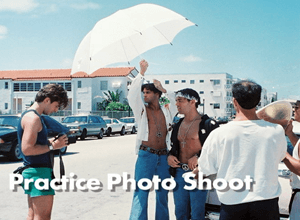 Practice Photo Shoot Proved Travel to Exotic Locales Not Needed